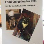 pet food poster